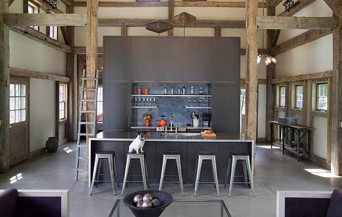 Интерьер кухни от James Dixon Architect