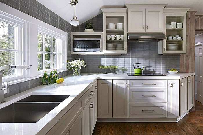 Интерьер кухни от CliqStudios Cabinets