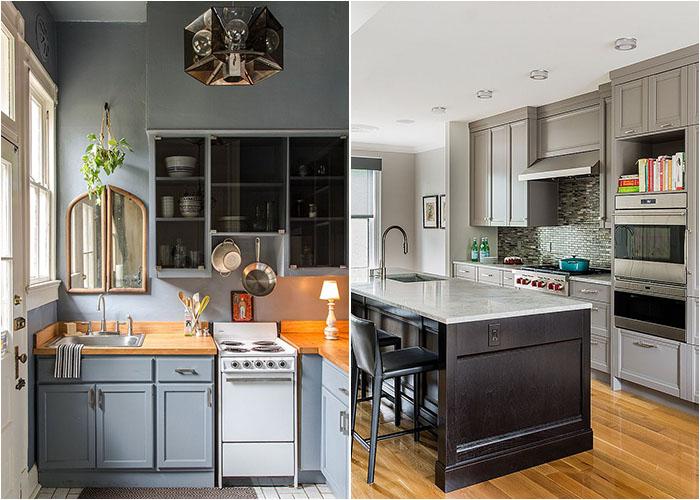 50 самых потрясающих кухонь в сером цвете от ...