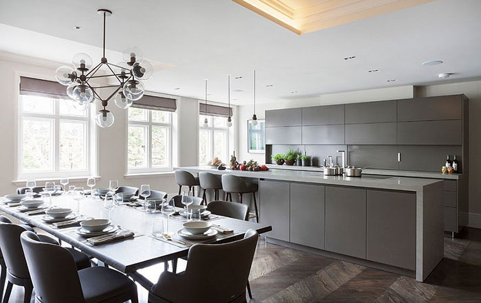 Интерьер кухни от  Eggersmann London