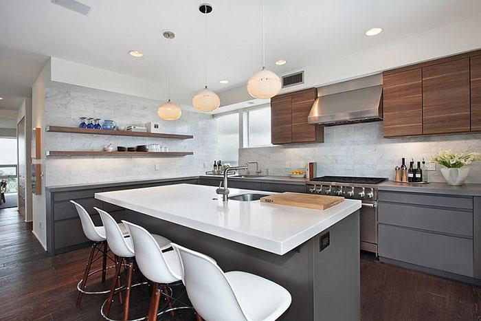 Интерьер кухни от Chris Woodburn Interiors