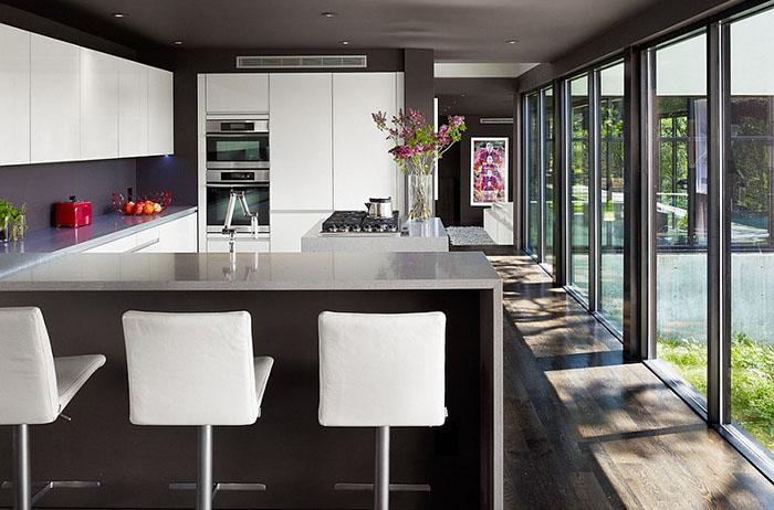 Интерьер кухни от Specht Harpman Architects
