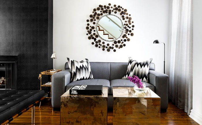 Интерьер гостиной от Toronto Interior Design Group