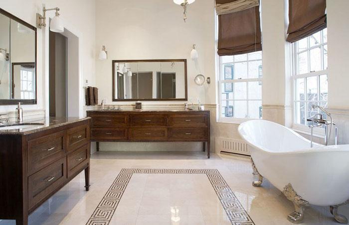 Интерьер ванной от Matiz Architecture & Design