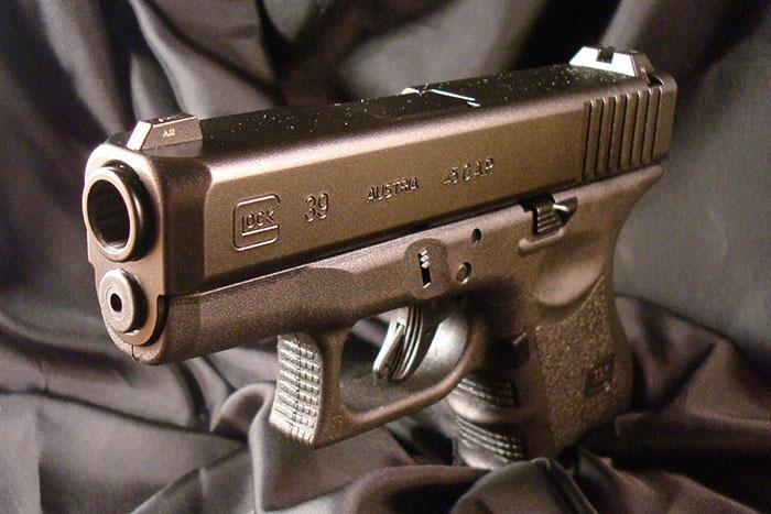 Пистолет 45 калибра Glock, 45G.A.P.