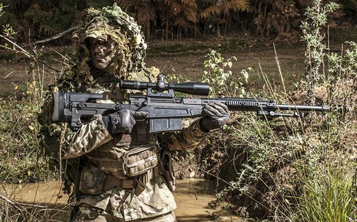 Крупнокалиберная снайперская винтовка AS50