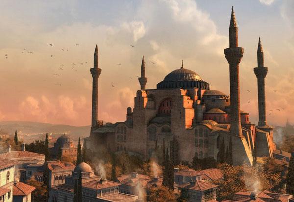 Айа София, Турция