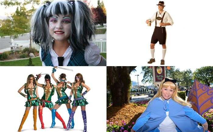 20 самых популярных костюмов на Хэллоуин