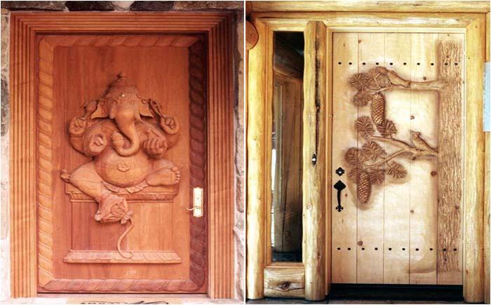 Дверь - картина