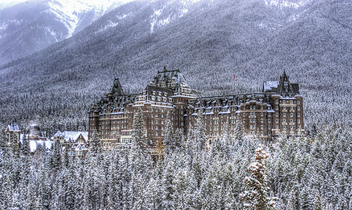 Отель «Банф-Спрингс» – Альберта, Канада