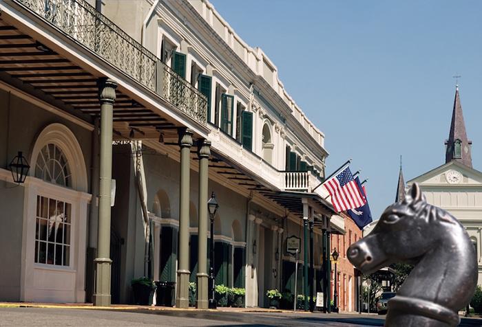 Отель «Бурбон-Орлеанс» - Новый Орлеан, Луизиана
