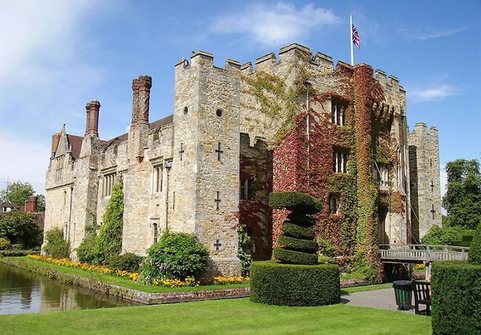 Замок Хевер – Кент, Англия