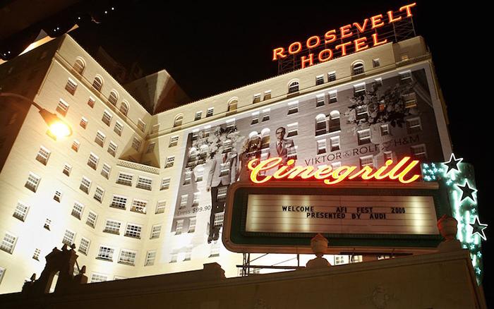 Отель «Голливуд-Рузвельт» – Лос-Анджелес, Калифорния