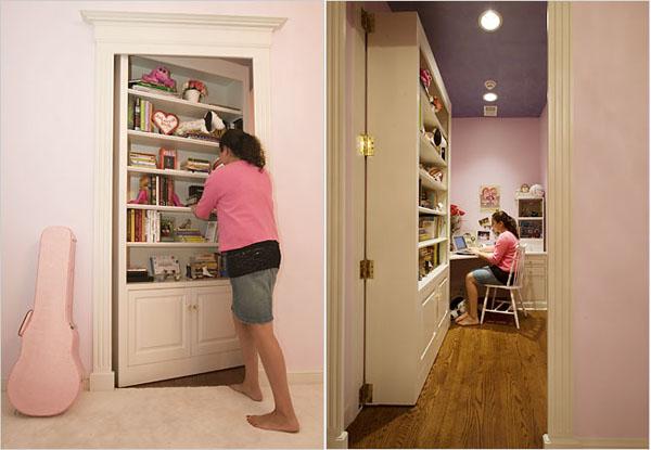 Дверь-книжный шкаф
