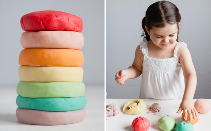 Как сделать самый безопасный пластилин для ребёнка своими руками