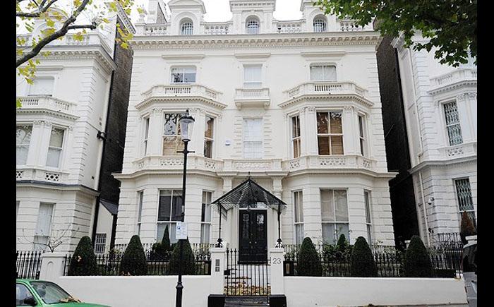 Лондонский дом Дэвида Бекхэма
