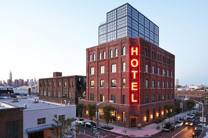 Отель Wythe, Бруклин
