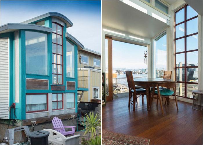 Жизнь на воде: плавучий дом в бухте Сан-Франциско