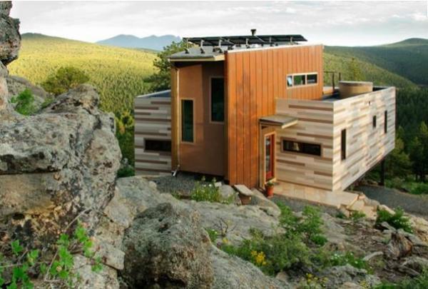 Дом из контейнеров в штате Колорадо, США