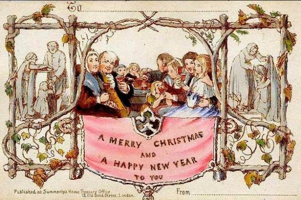Самая дорогая рождественская открытка