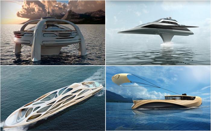 10 невероятных яхт будущего как воплощение самой смелой мечты
