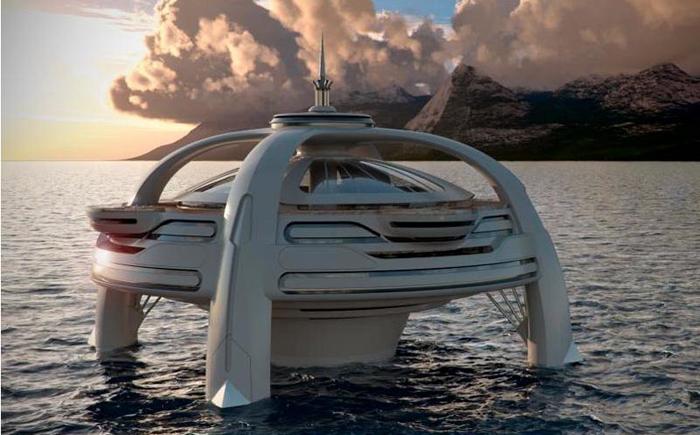 Яхта Floating Utopia