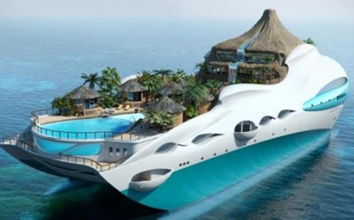 Яхта «Тропический остров»