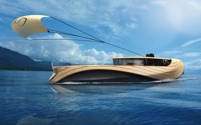 Футуристическая яхта Cronos
