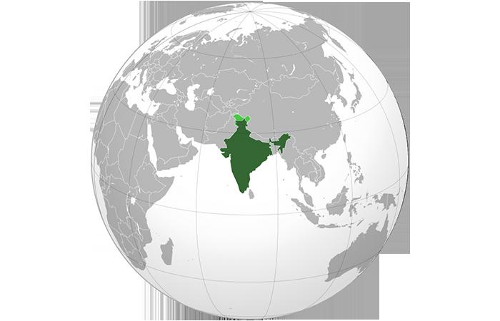 Индия когда-то была островом