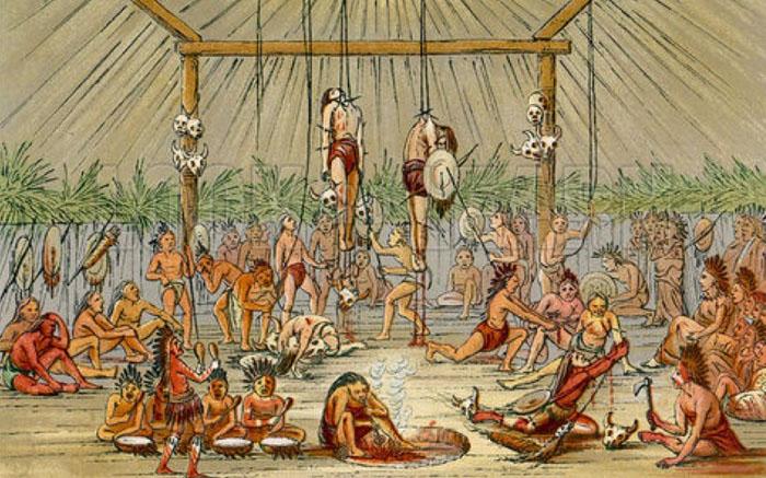 Страшный суд племени мандан