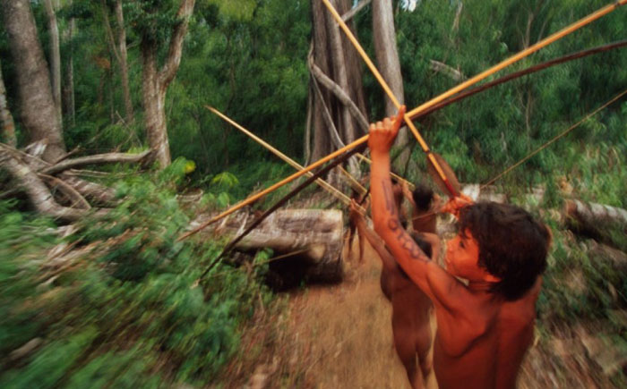 Обряды в племени матис