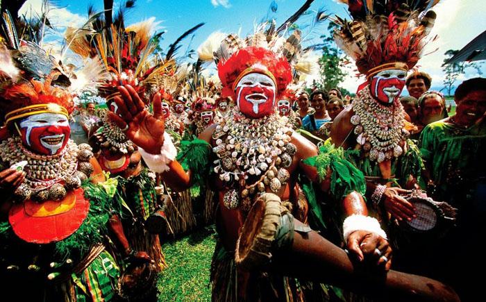 Ритуал кровопускания в племени самбия