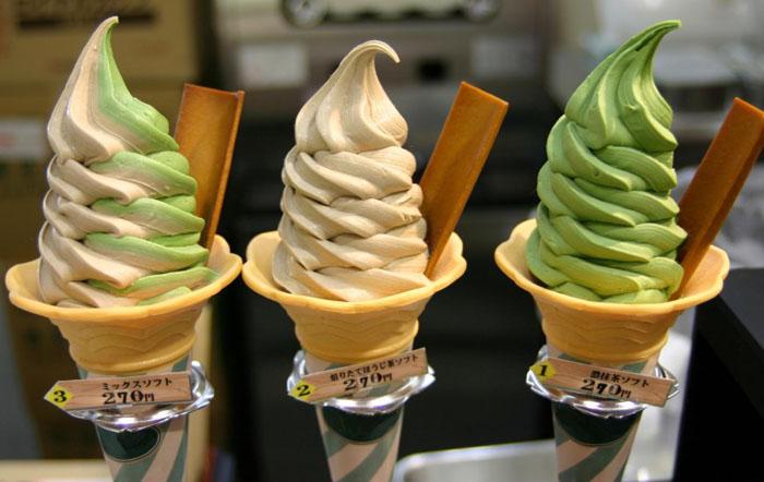 Необычное мороженое