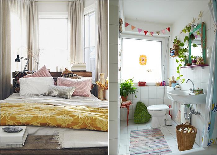 Портьеры для окон в разных комнатах