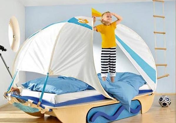 Спальня для будущих моряков