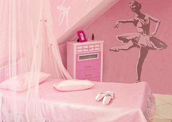 Спальня для юной балерины