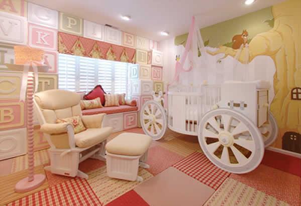 Спальня для юной принцессы
