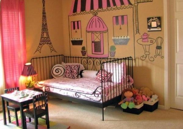 Спальня с парижской атмосферой