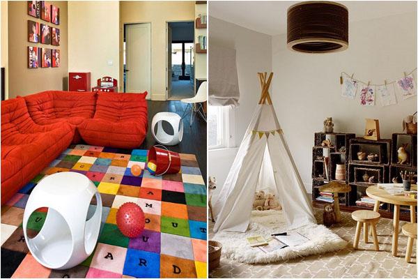 Обзор идей оформления ярких и весёлых игровых комнат для детей