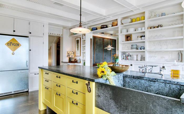 Интерьер кухне от J.A.S. Design-Build