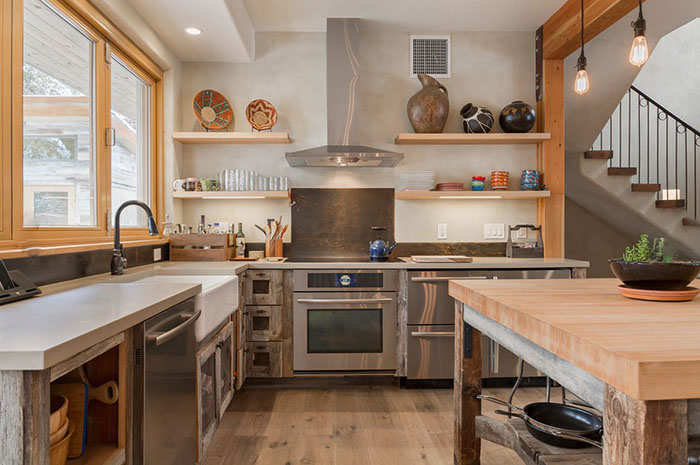 Внимание на свободное пространство в кухне