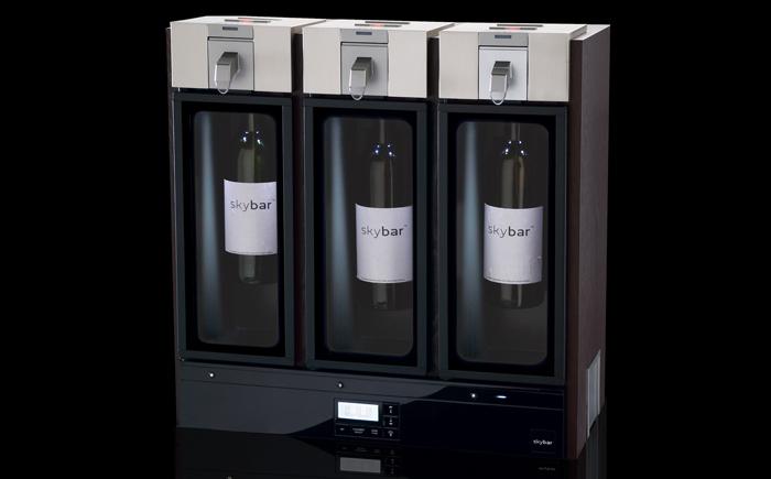 Система хранения и подачи вина Skybar: 1 000 долларов