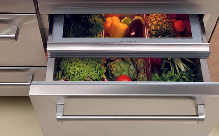 Холодильные выдвижные ящики Sub-Zero Wolf Freezer Drawers