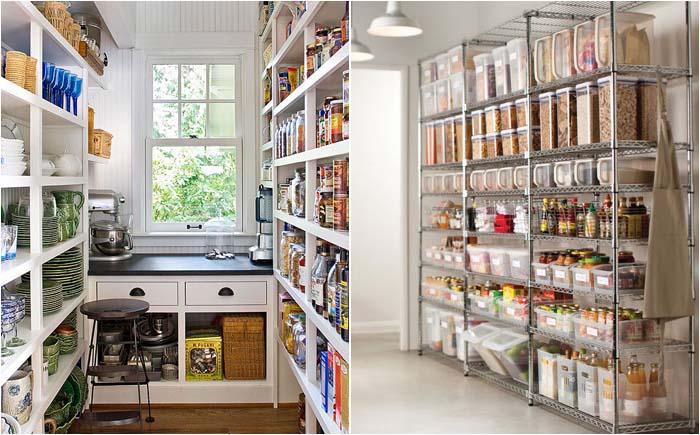Стеллажи для хранения продуктов, бытовой техники, посуды