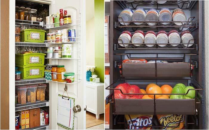 Функциональность и красота: 20 идей по организации кладовой на кухне