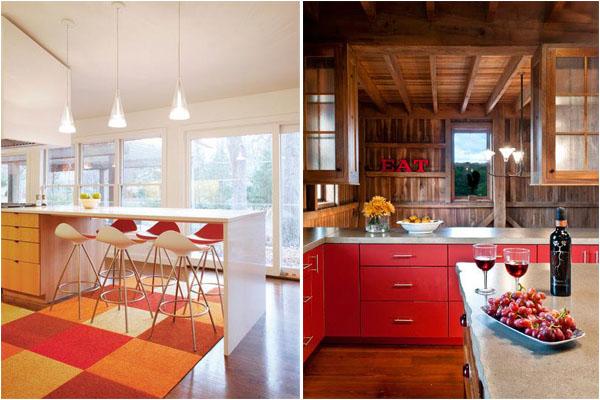ТОП-10 современных цветовых решений для кухни