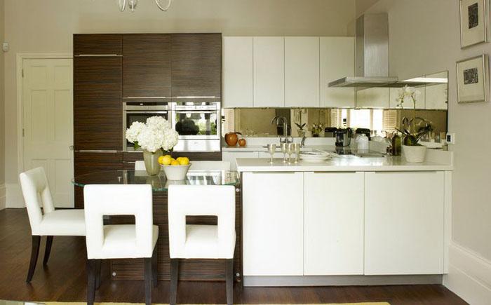 Интерьер кухни от английских дизайнеров