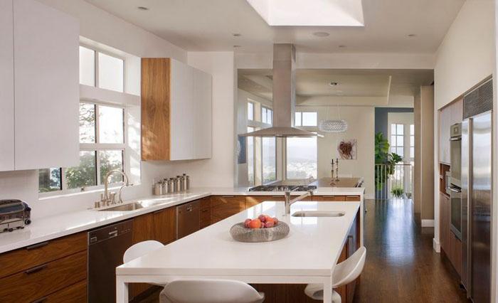 Интерьер кухни от John Lum Architecture