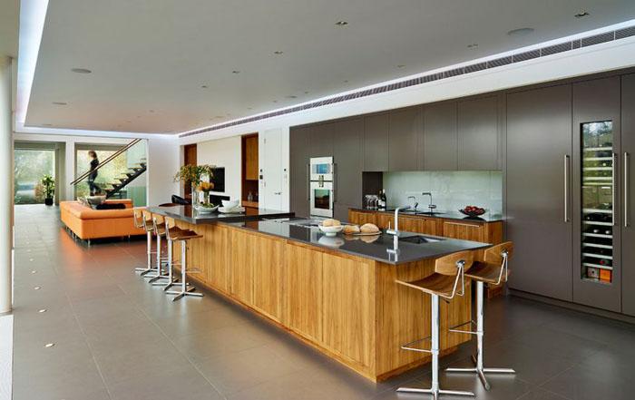 Интерьер кухне от DYER GRIMES ARCHITECTS