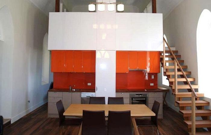 Ентерьер кухни от Sandberg Schoffel Architects